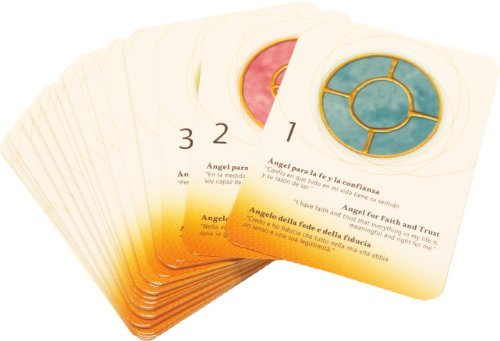 Simbolos angelicales energetizados. 49 Cartas energetizadas [Ingrid Auer] (Cartas)