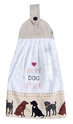Dog Terry Towels - Kay Dee Designs Best Dog Ever Tie Kitchen Towel, 9