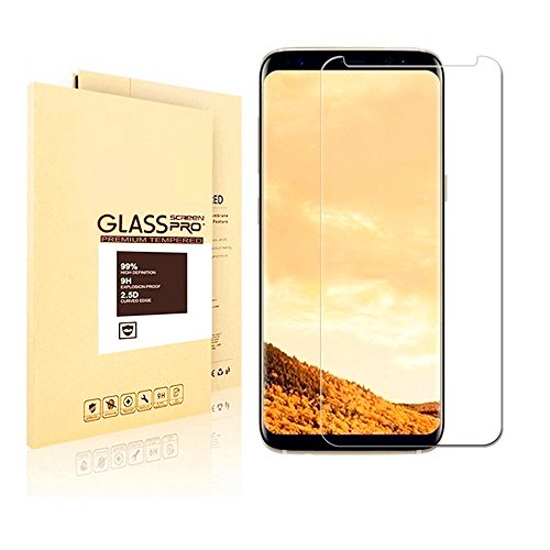 Samsung Galaxy S8 Plus Tempered Glass Screen Protector, Roicolas [3D Touch Compatible][9H...