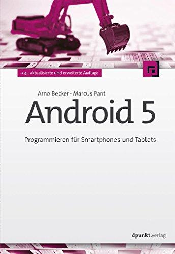 Android 5: Programmieren für Smartphones und Tablets (German Edition)
