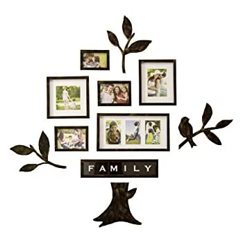 luoyiman photo wall collage frame family tree wall stickers 3dblack