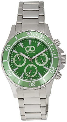 Gio Collection Analog Green Dial Men #39;s Watch   GAD0041 C