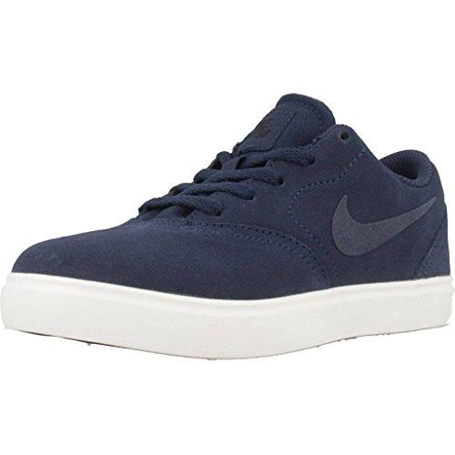 Chaussures ps Check Nike black Garçon De Navy midnight Fitness Multicolore 400 Sb midnight Suede Navy 5wI1t1