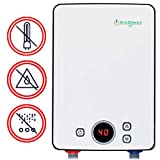 Sio Green IR260 POU Electric Tankless Water Heater - Infrared Tank-Less Instant Hot Water Heater - Cost Effective & Corrosion-Free - No Lime Scale, No Algae, No Bacteria - 220v - 240v / 10A- 30A / 6kW
