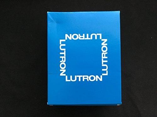 Nova T 16 Amps LED / Fluorescent 0-10 VDC, Line Voltage Single Pole Slide-to-Off Dimmer in White, Matte Finish - LUTRON NTSTV-DV-WH
