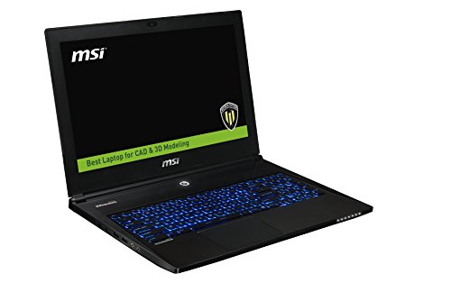 "Photo - MSI WS60 2OJ 3K-004US Core i7, 15.6"" WQHD+ 3K Display, NVIDIA Quadro Graphics, Win 7 Pro Slim & Light Workstation"