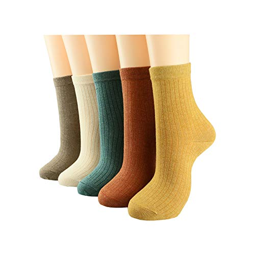 rew girls for winter Combed cotton socks women and girls fashion socks ()