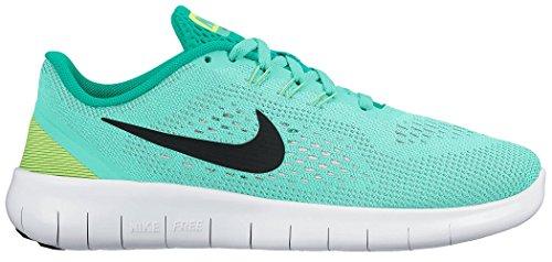 Nike Free Rn (Gs)Girls Running Shoe Hyper Turq/Black-Clear - Women Nike Shox Size 10