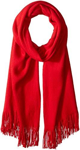 Echo Women's Milk Soft Muffler Scarf, ruby red One Size