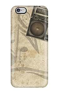 New Music Art Tpu Case Cover, Anti-scratch ZXfBhyF10886RbPCA Phone Case For Iphone 6 Plus