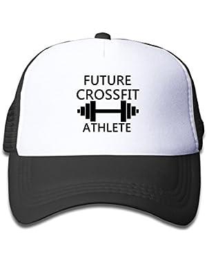Future CrossFit Athlete Toddler Mesh Hat Adjustable Nylon Hats For Kids
