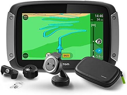 Tomtom Rider 410 Premium Pack - Navegador GPS, Color Negro