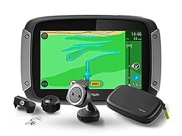 Tomtom Rider 410 Premium Pack - Navegador GPS, Color Negro: Amazon.es: Coche y moto