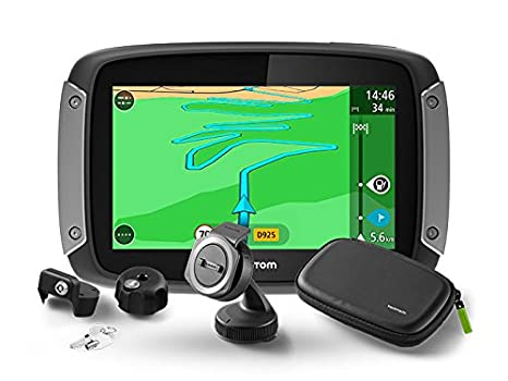 TomTom Rider 410 Premium Pack Great Rides Edition - Navegador GPS (Interno, 10,