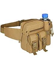 Tianxiu Wodoodporna torba na brzuch, outdoorowa torba na talię nerki praktyczna nylonowa kamuflaż torba sportowa, outdoorowa sport pieniądze torba biodrowa saszetka na wakacje bieganie przyjemność