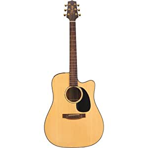 Takamine G Series EG340SC Dreadnought Acoustic Electric Guitar, Natural