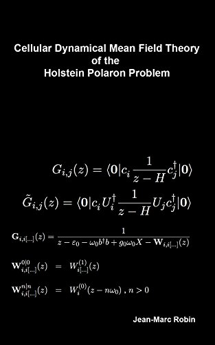 Cellular Dynnamical Mean Field Theory of the Holstein Polaron Problem