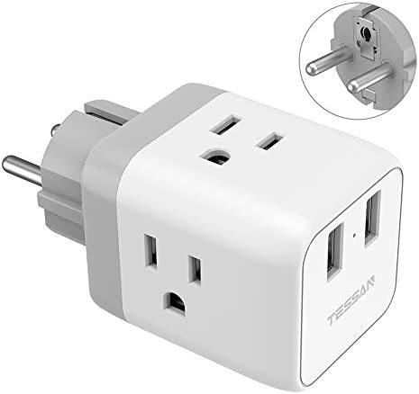 Germany Adapter TESSAN European Iceland product image
