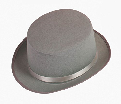 Adult Grey Top Hat]()