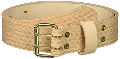 Klein Tools 5415XL Heavy-Duty Embossed Leather Tool Belt, X-Large