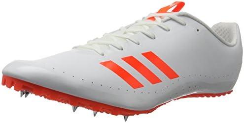 adidas Sprintstar Men's Running Spikes, White, AU11: Amazon