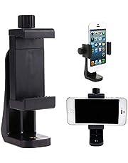 حامل حامل ثلاثي / الهاتف الخلوي المقص العمودي للهاتف الذكي مشبك حامل 360 محول للهاتف المحمول
