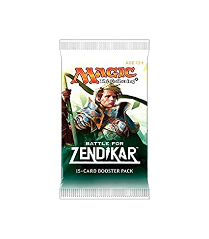 Sobre de 15 Cartas de La Batalla Por Zendikar - Magic The ...