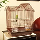 Petco Designer Brown Ranch Style Top Parakeet Cage, My Pet Supplies