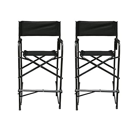 Impact Canopy Directoru0027s Chair Tall Folding Directoru0027s Chair Heavy Duty Set of 2  sc 1 st  Amazon.com & Amazon.com: Impact Canopy Directoru0027s Chair Tall Folding ...