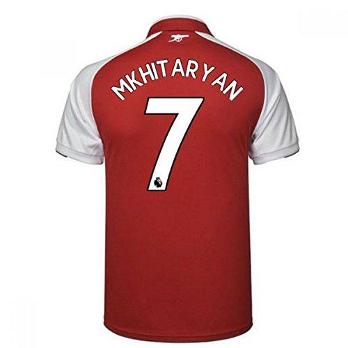 シェルター投票登場2017-18 Arsenal Home Shirt - Kids (Mkhitaryan 7)