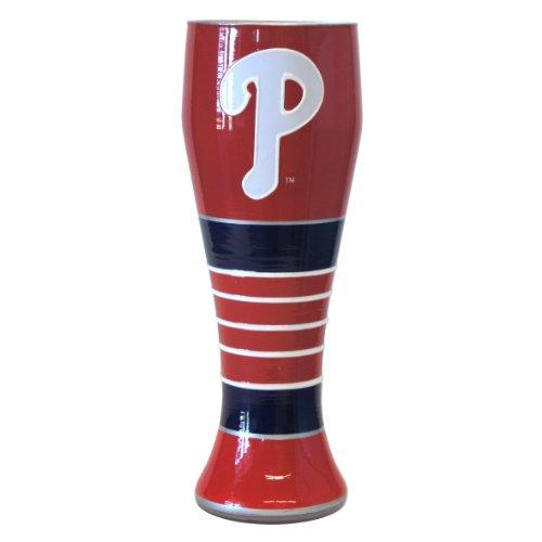 - Boelter Brands MLB Philadelphia Phillies 23-Ounce Artisan Pilsner Glass