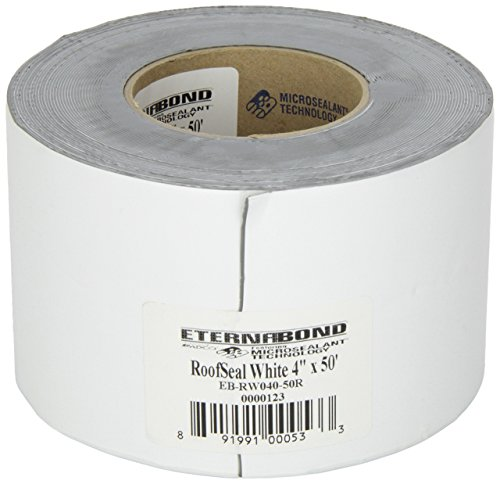 EternaBond RSW-4-50 RoofSeal Sealant Tape, White - 4'' x 50' by EternaBond