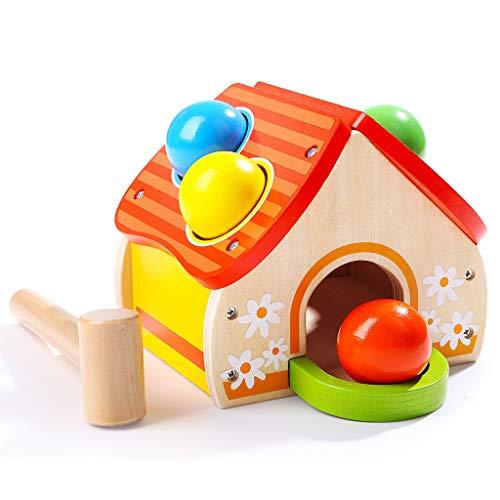 ZaiQu La casa de los niños supera los Juguetes de Madera, la cognición de la Forma del bebé, la iluminación de la...