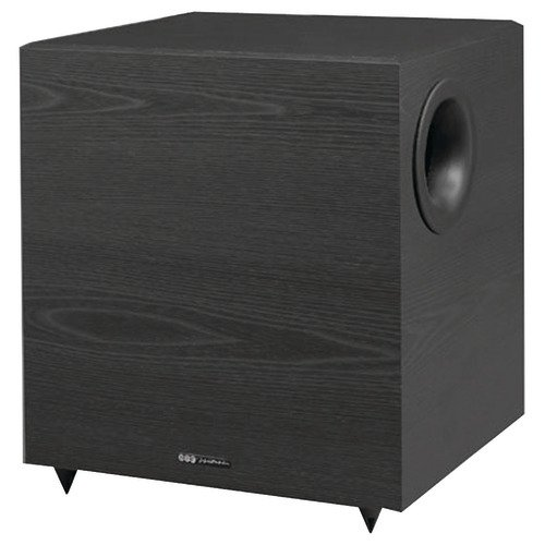BIC America V-1220 12-Inch 430-Watt Down-Firing Powered Subwoofer by BIC