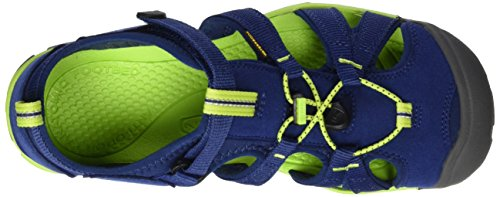 Seacamp Green Bout II Enfant CNX Depths Sandales Bleu KEEN Blue Fermé Mixte Lime q7BOx