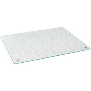 "Farberware Glass Utility Cutting Board, 12"" x 14"", Clear"