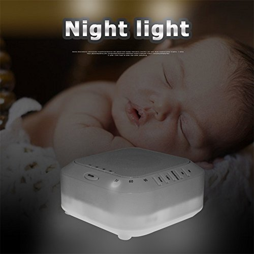 Machine Nightlight Soother Support Card Music Player for Comfort &