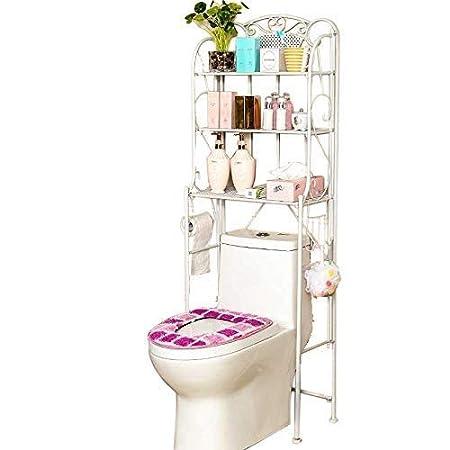 Estante Organizador de baño, encima del estante de almacenamiento ...