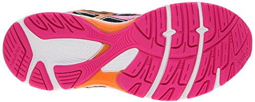 Asics Womens Gel-Equation 8 Running Shoe Black/Hot Pink/Orange