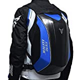 isilky Motorcycle Backpack, Carbon Fiber Riding
