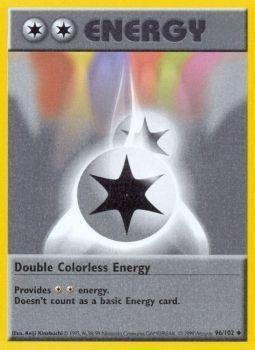 Pokemon - Double Colorless Energy (96/102) - Base Set