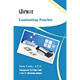 """Hot Thermal Laminating Pouches 5Mil - 11.5x17.5 Inches for sealed 11x17"""" Photo - 50 Sheets 11.5x17.5 inches Pack , Uinkit 24 hours service , 3 years warranty"""