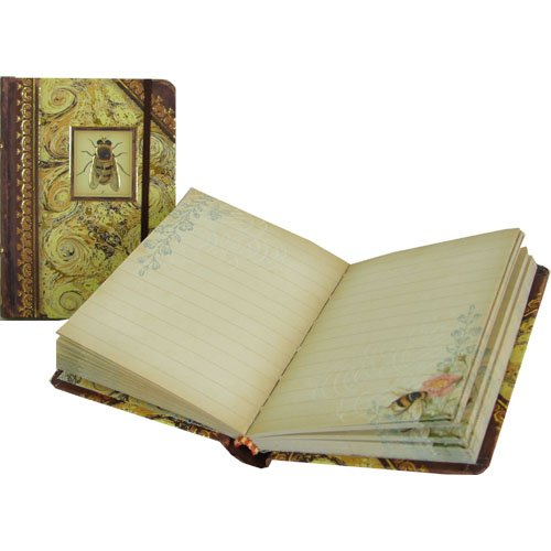 Bee Punch Studio Tiny Book Notepad 3 by 4 inch, One