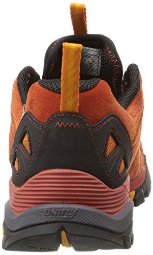 Dark Rust Shoe Waterproof Hiking Capra Men's Merrell qnx1Sw