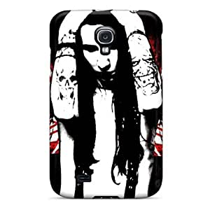 High Quality Hard Phone Cases For Samsung Galaxy S4 (SNn15557URPZ) Allow Personal Design Realistic Marilyn Manson Band Pictures