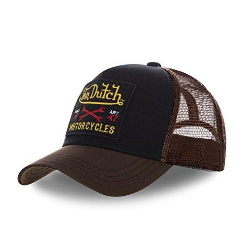 Von Dutch Gorra de béisbol - para Hombre negro / marrón