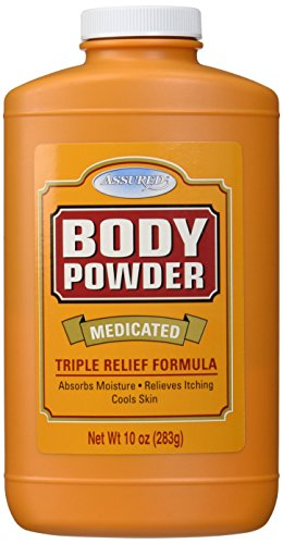 dy Powder, Triple Relief Formula, 10 Oz (Medicated Powder)