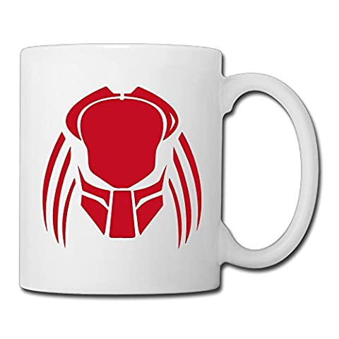 Christina Predator Logo Ceramic Coffee Mug Tea Cup White - Predator Cleaner