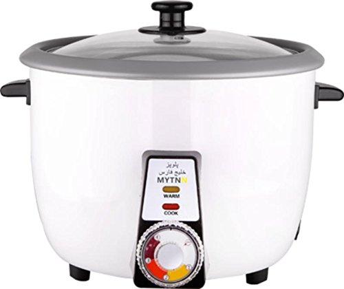 Reiskocher voll Automatisch für 6 bis 8 Personen mit Reiskruste Funktion Tahdig polopaz Rice cooker mit Warmhaltung Funktion
