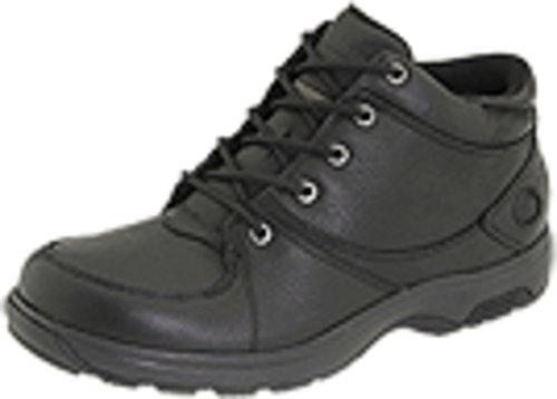(Dunham Men's Addison Mid Cut Waterproof Boot,Black,11.5 2E)